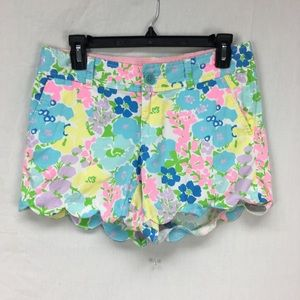 Lilly Pulitzer Multi Color Floral Print Buttercup